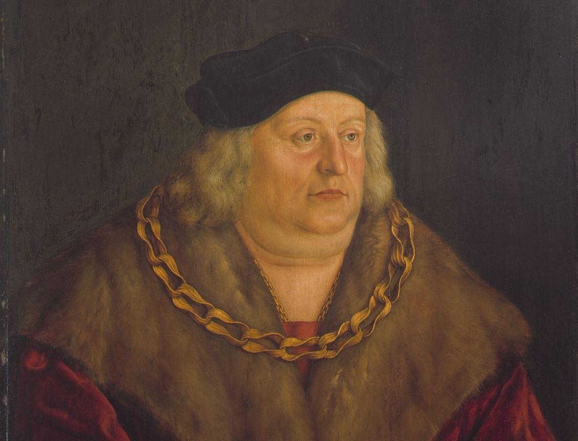 Herzog Albrecht IV. von Bayern, Ölgemälde 1535; Foto: Wikipedia, gemeinfrei