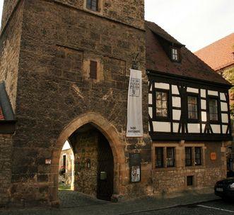 Der Torturm von Schloss Urach
