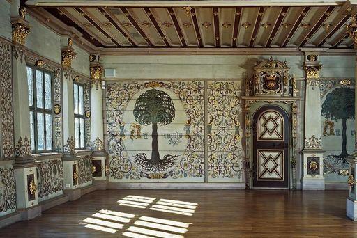 Château résidentiel d'Urach, salon doré; l'image: Staatliche Schlösser und Gärten Baden-Württemberg, Tom Philippi