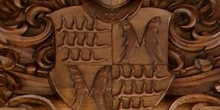 Details of the coat of arms of the counts of Württemberg.