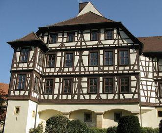 Außenansicht von Schloss Urach