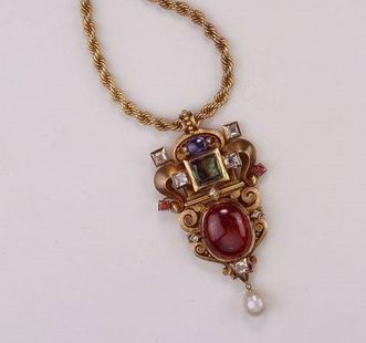 Valuable pendant belonging to Barbara Gonzaga. Image: Landesmuseum Württemberg, credit unknown